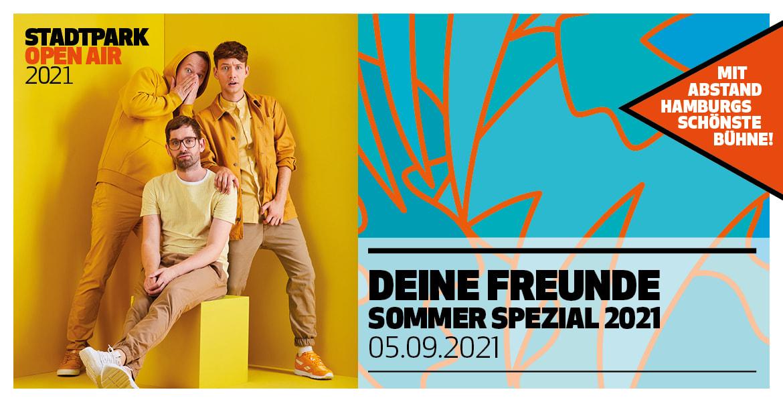 DEINE FREUNDE 05.09.2021 Stadtpark Open Air, Hamburg ...